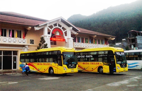 sapa bus ticket - hung thanh bus