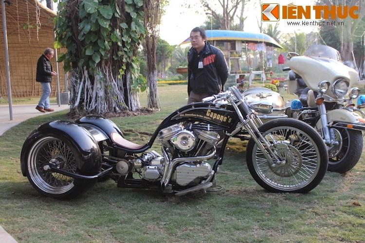 "Dan choi moto phia Bac ram ro show ""xe khung"" tai Ha Noi - Anh 10"