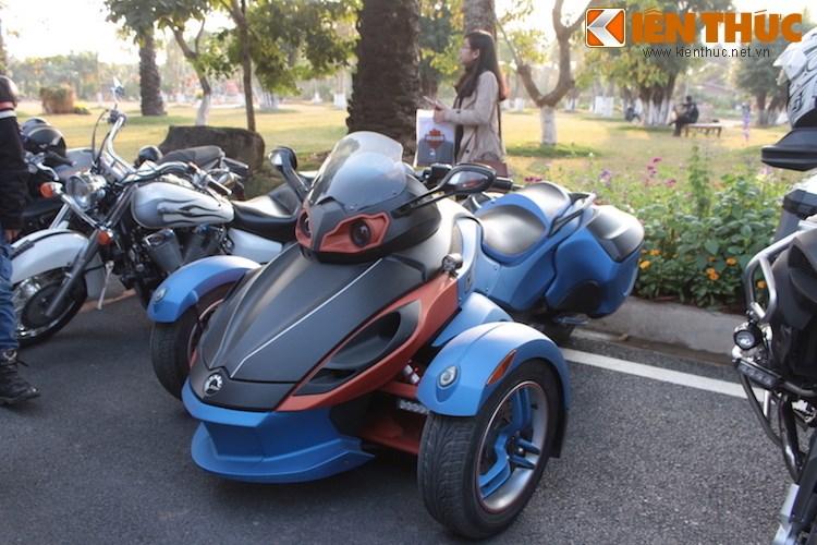 "Dan choi moto phia Bac ram ro show ""xe khung"" tai Ha Noi - Anh 12"