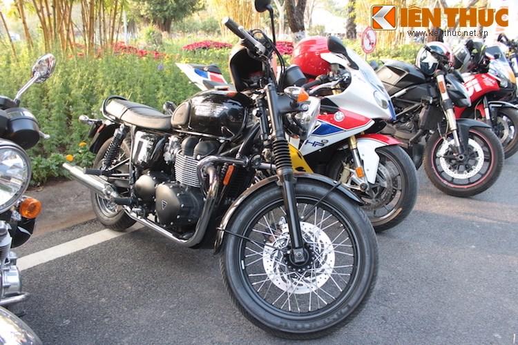 "Dan choi moto phia Bac ram ro show ""xe khung"" tai Ha Noi - Anh 13"