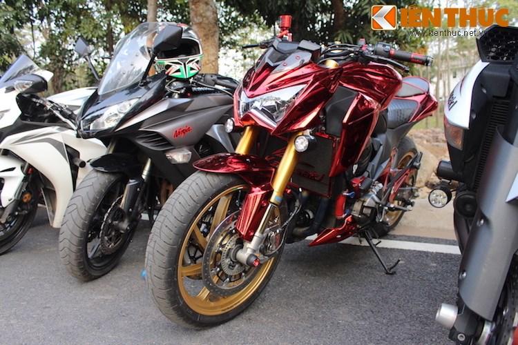 "Dan choi moto phia Bac ram ro show ""xe khung"" tai Ha Noi - Anh 14"