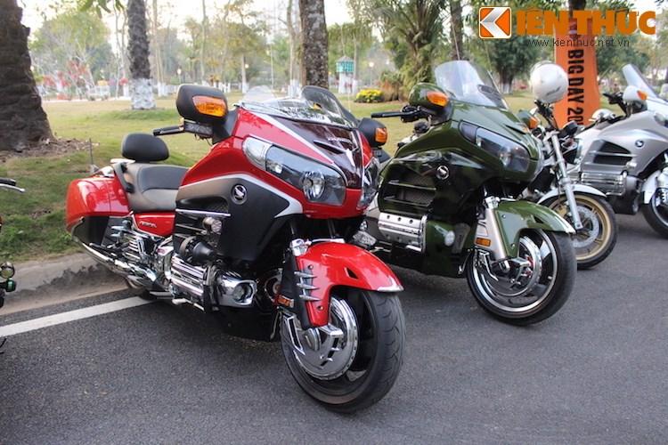 "Dan choi moto phia Bac ram ro show ""xe khung"" tai Ha Noi - Anh 17"