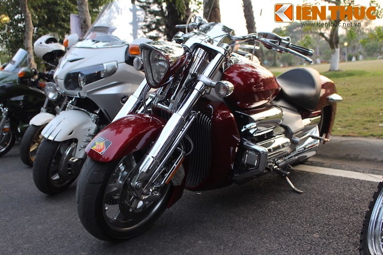 "Dan choi moto phia Bac ram ro show ""xe khung"" tai Ha Noi - Anh 18"