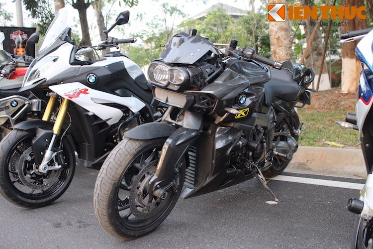 "Dan choi moto phia Bac ram ro show ""xe khung"" tai Ha Noi - Anh 19"