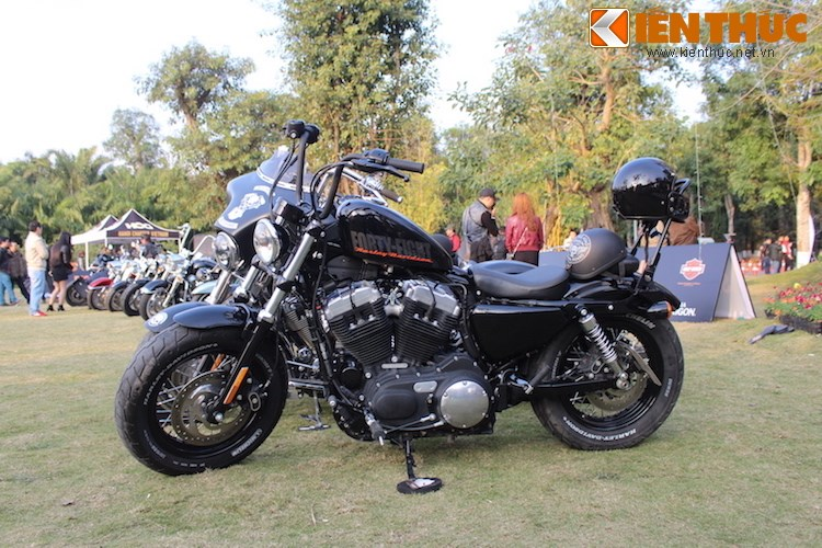 "Dan choi moto phia Bac ram ro show ""xe khung"" tai Ha Noi - Anh 6"