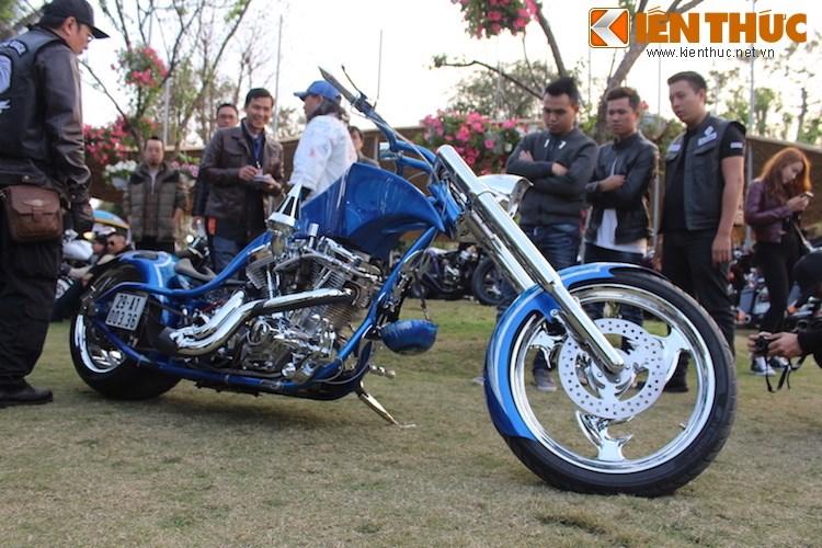 "Dan choi moto phia Bac ram ro show ""xe khung"" tai Ha Noi - Anh 7"