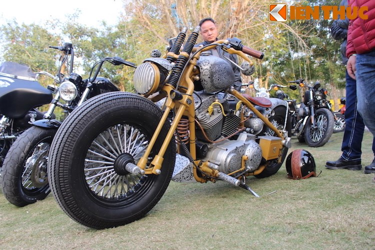 "Dan choi moto phia Bac ram ro show ""xe khung"" tai Ha Noi - Anh 8"