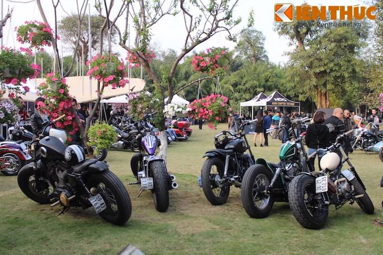 "Dan choi moto phia Bac ram ro show ""xe khung"" tai Ha Noi - Anh 9"
