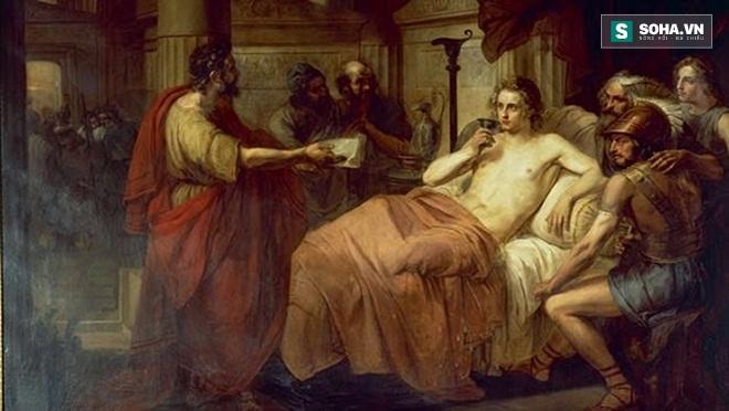 Kết quả hình ảnh cho cái chết của alexander đại đế