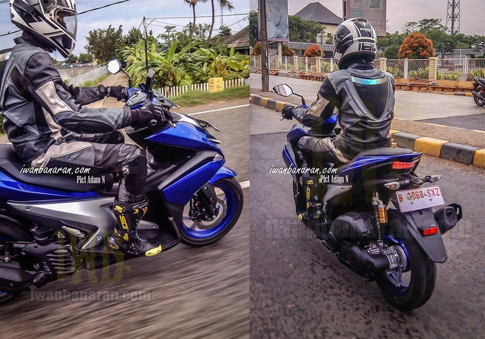 Xe thay the Yamaha Nouvo lo anh chay thu - Anh 1