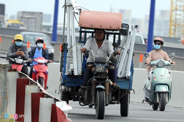 'Siết' quản lý xe thô sơ, cơ giới ba bánh gây mất an toàn giao thông