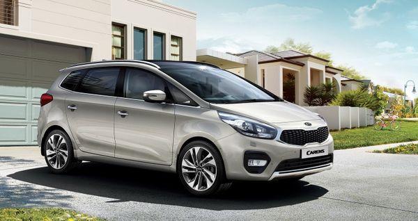 Kia Carens phiên bản cải tiến chính thức ra mắt