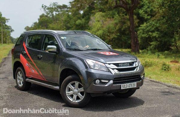 Isuzu MU-X - Mẫu xe bền bỉ và tiện dụng
