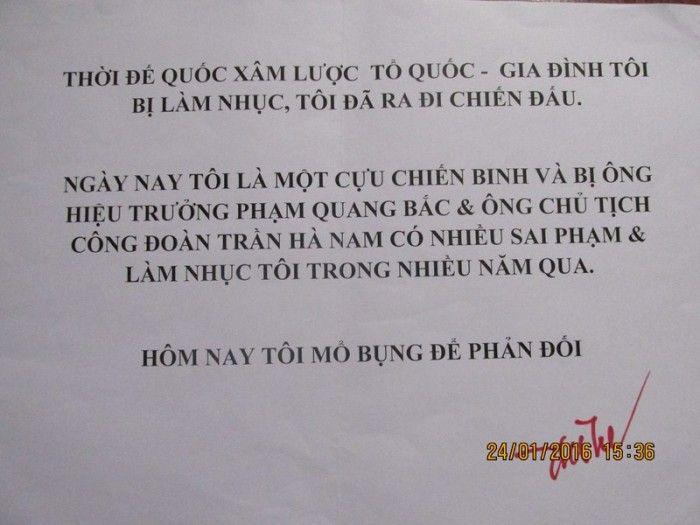 Bình Định: Một giáo viên có ý định mổ bụng tự sát tại Lễ kỷ niệm 15 năm thành lập Trường THPT Chuyên Lê Quý Đôn