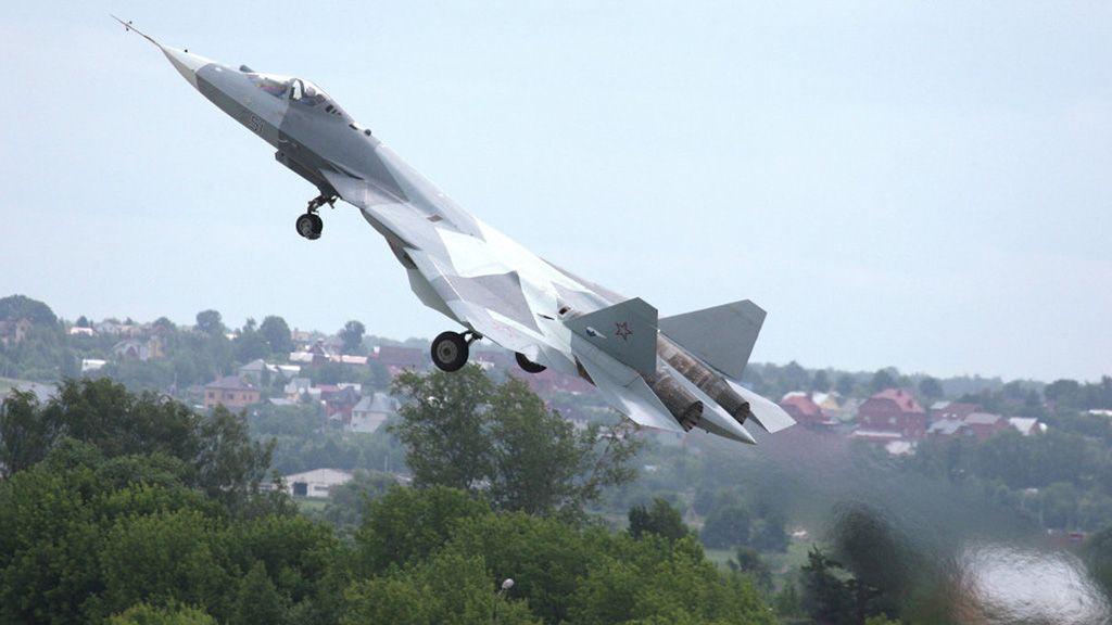 Tiêm kích tàng hình T-50 của Nga tăng độ cao nhanh kỷ lục