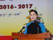Chủ tịch Quốc hội bắt đầu chuyến thăm hữu nghị chính thức Lào