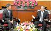 Chủ tịch Nguyễn Thiện Nhân tiếp Bộ trưởng Ngoại giao Singapore