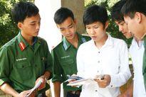 6 điểm cần lưu ý khi thi vào trường quân sự