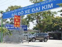 Không làm bãi đỗ xe dọc sông Kim Ngưu