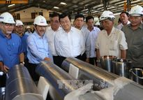 Chủ tịch nước thăm và làm việc tại tỉnh Bà Rịa - Vũng Tàu