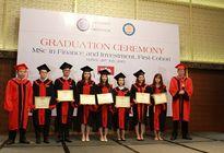 Viện Đào tạo Quốc tế bế giảng khóa I Thạc sĩ Tài chính và Đầu tư