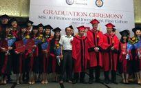 Trao bằng quốc tế cho 35 thạc sỹ tài chính và đầu tư tại Việt Nam