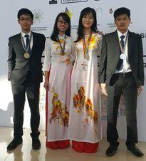 Việt Nam giành 4 huy chương tại Olympic Hóa học quốc tế