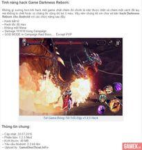 Cộng đồng game thủ Darkness Reborn mất đoàn kết vì hack