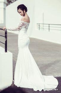 Váy cưới ngọt ngào cho cô dâu Sài Gòn