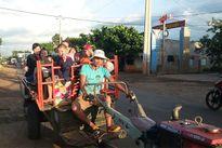 """Vấn nạn xe công nông """"3 không"""" ở Đắk Lắk"""