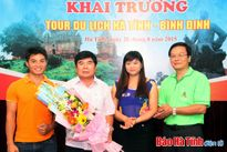 Khai trương Tour du lịch Hà Tĩnh - Bình Định