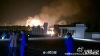 Trung Quốc: Lại nổ long trời, lở đất ở một kho hóa chất