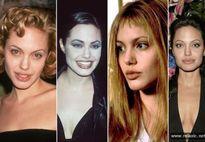 Sự thay đổi phong cách của Angelina Jolie