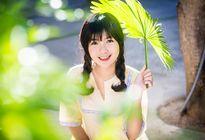Gương mặt đáng yêu của nữ sinh chuyên Anh xứ Quảng