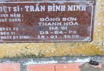 Thầy giáo Nguyễn Sĩ Hồ đã giúp gia đình liệt sĩ Trần Đình Minh tìm thấy mộ liệt sĩ