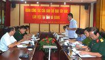 Đoàn công tác Ban Chỉ đạo Tây Bắc làm việc tại Hà Giang