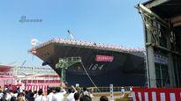 Nhật Bản hạ thủy tàu khu trục khổng lồ Izumo thứ hai