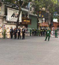 Cấm đường phân làn giao thông 2/9 để phục vụ cho lễ diễu binh