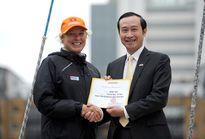 Lễ đặt tên thuyền buồm Đà Nẵng – Việt Nam tại Anh