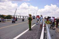 Cầu Mỹ Lợi vừa thông xe đã xảy ra tai nạn giao thông