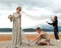 7 cô dâu nổi tiếng chọn váy cưới Valentino đặc biệt