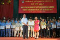 Hội thi Thợ giỏi ngành cơ khí trong CNLĐ các Khu CN-CX Hà Nội năm 2015: CĐ Cty TNHH Denso Việt Nam đoạt giải nhất tập thể