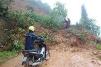 Hà Giang: Mưa lớn gây sạt lở hàng nghìn m3 đất đá