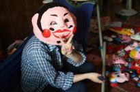 Thiếu nhi vui Tết Trung thu với mặt nạ giấy bồi truyền thống
