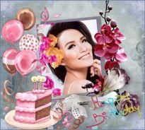 Vợ chồng Hoa hậu Diễm Hương tổ chức sinh nhật chung