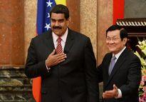 Chùm ảnh Chủ tịch nước Trương Tấn Sang tiếp Tổng thống Venezuela