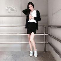 'Cô bé trà sữa Việt' khoe chân dài trong đồng phục nữ sinh trên đất Thái