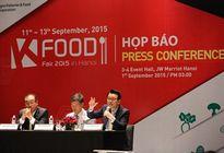 Hội chợ thực phẩm K-Food Fair 2015