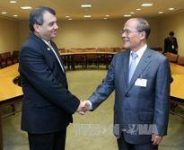 Hoạt động của Chủ tịch Quốc hội Nguyễn Sinh Hùng tại Trụ sở Liên hợp quốc