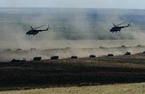 Mục kích 6.000 lính Nga hành quân tập trận lớn